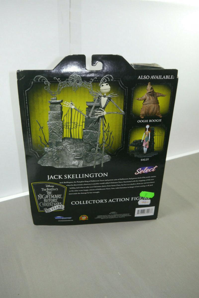 NIGHTMARE BEFORE CHRISTMAS Series 1 - Jack Skellington DIAMOND SELECT Neu (KA5) 4