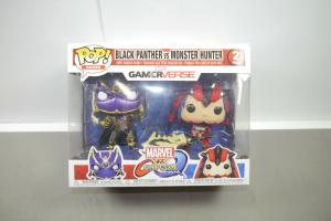 Marvel Black Panther vs Monster Hunter 2er Pack   Funko Pop    (K26)