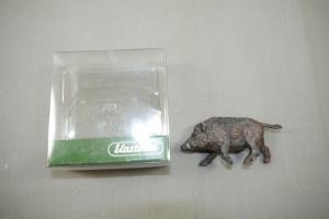 ELASTOLIN  Preiser Wildschwein Eber  in Box 1:25 (K25)