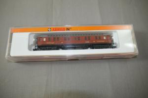 Arnold 3390 Personenwagen piccolo Spur N  ( K89)