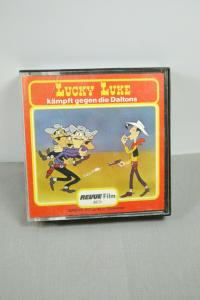 Lucky Luke kämpft gegen die Daltons  Super 8 ca.45m SW Revue Film   (K25)