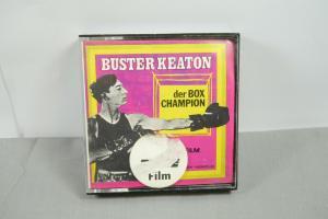 Buster Keaton der Box Champion  Super 8 60m SW Heimfilm  PICCOLO (K25)