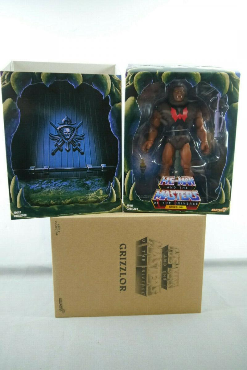 MASTERS OF THE UNIVERSE  Grizzlor  Classic Club Wave 3  SUPER 7 18 cm (KA3)* 1