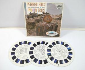 VIEWMASTER Petrified Forest National Park & Painted Desert 3 Bildscheiben K60 #A