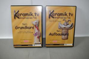 Keramik.tv Teil 1+2 ( Grundkurs + Aufbaukurs ) DVD   (K47