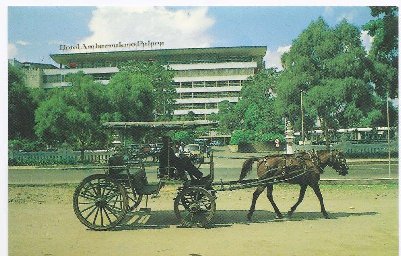 AK aus Indonesien Ansicht des Hotels Ambarraukmo Palace Hotel