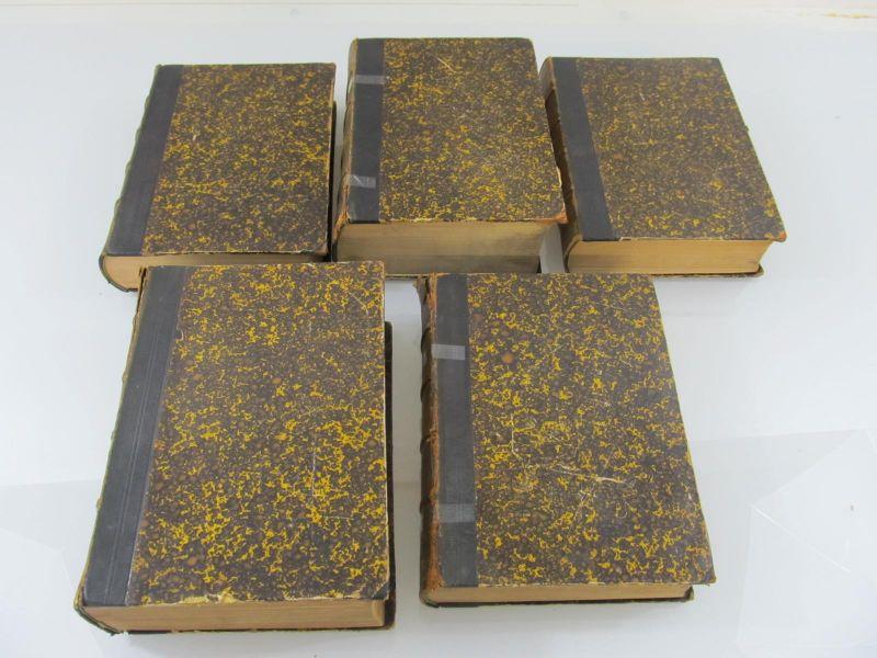 Die gesammten Materialien Bürgerlichen Gesetzbuch für das Deutsche Reich. 5 Bände