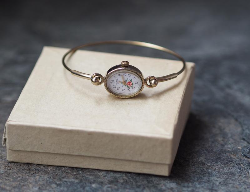 Russische Damen Armbanduhr CHAIKA 1970er 3