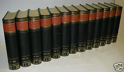 Der große Brockhaus, 16. Auflage in 13 Bänden, Goldschnitt
