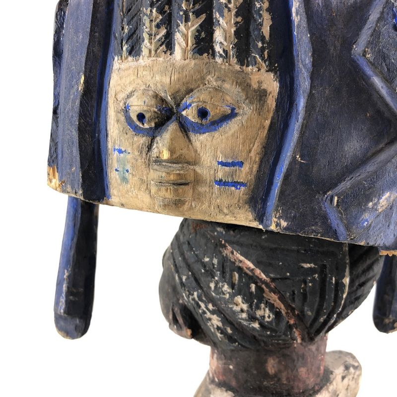 Weibliche Skulptur - Nigeria um ca. 1940 4