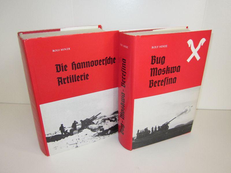 Dr. Rolf Hinze   Die hannoversche Artillerie - Band I: AR 19 - AR(mot.) 19 - PzAr 19, Band II: Ar 267 (IV./AR 231)