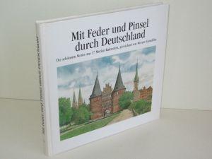 Gauselmann-Gruppe (Hg.) | Mit Feder und Pinsel durch Deutschland - Die schönsten Motive aus 17 Merkur-Kalendern, gezeichnet von Werner Ganteföhr