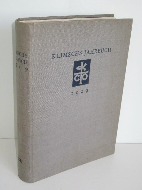 Dr. Konrad F. Bauer   Klimschs Jahrbuch, Band XXII - Technische Abhandlungen und Berichte über die Neuheiten aus dem Gesamtgebiete der graphischen Künste 0