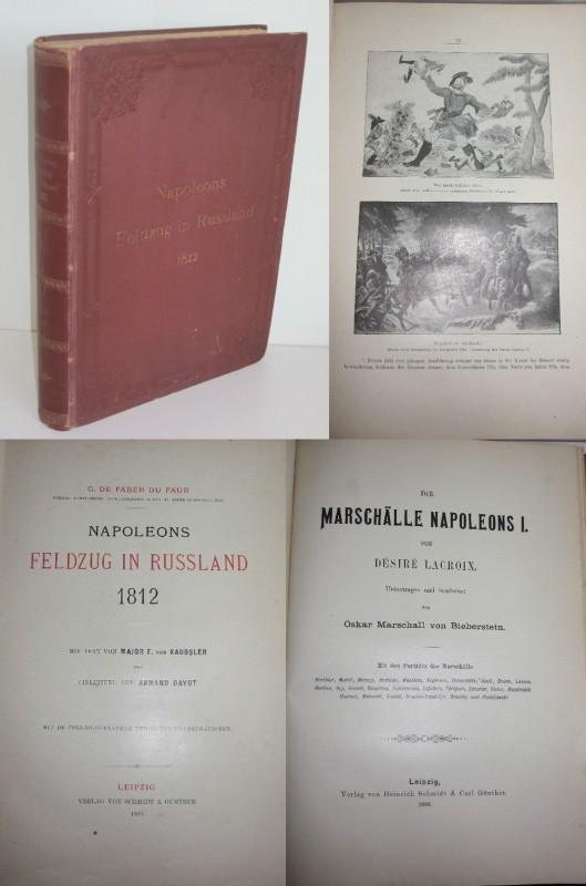 G. De Faber du Faur, Désiré Lacroix | Napoleons Feldzug in Russland 1812 / Die Marschälle Napoleons I. 0