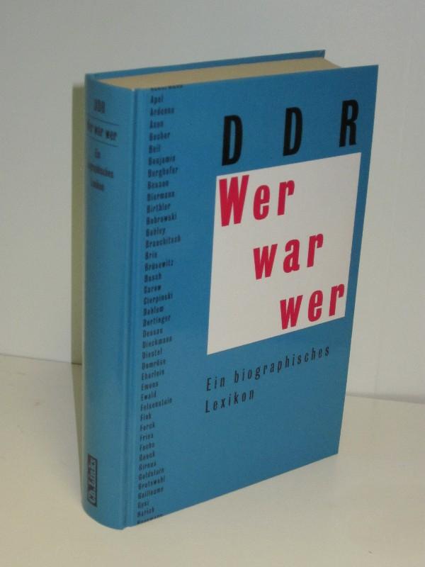 Jochen Cerny (Hg.) | Wer war wer - DDR - Ein biographisches Lexikon