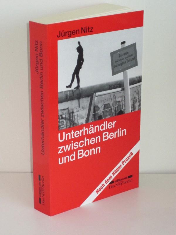 Jürgen Nitz | Unterhändler zwischen Bonn und Berlin