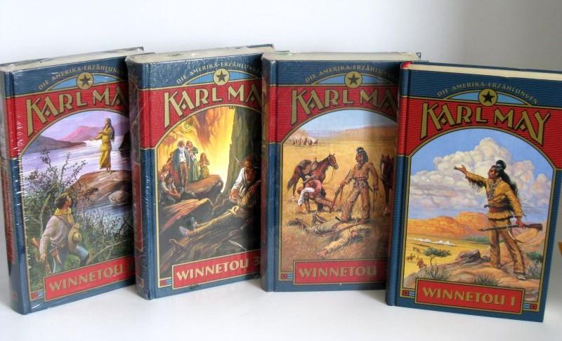 Karl May | Winnetou Band 1 - 4 - Die Amerika-Erzählungen