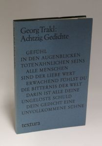 Georg Trakl | Achtzig Gedichte