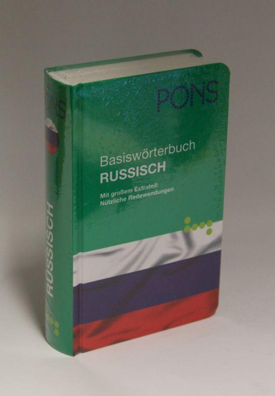 Herausgegeben von Pons | Basiswörterbuch Russisch - Mit großem Extrateil: Nützliche Redewendungen