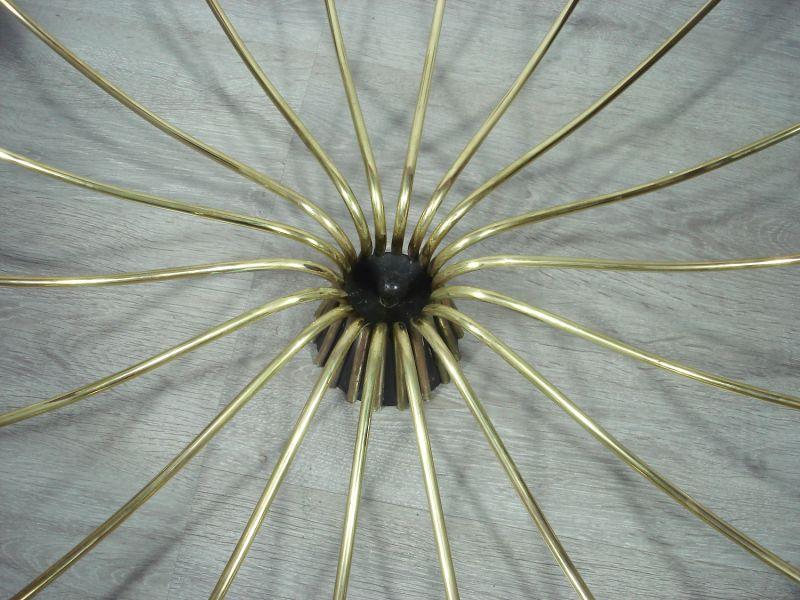 50er 60er XXL Spinnen Sputnik Kronleuchter Atomic Space Age Deckenlampe 18-flammig, Mid Century Modern 3