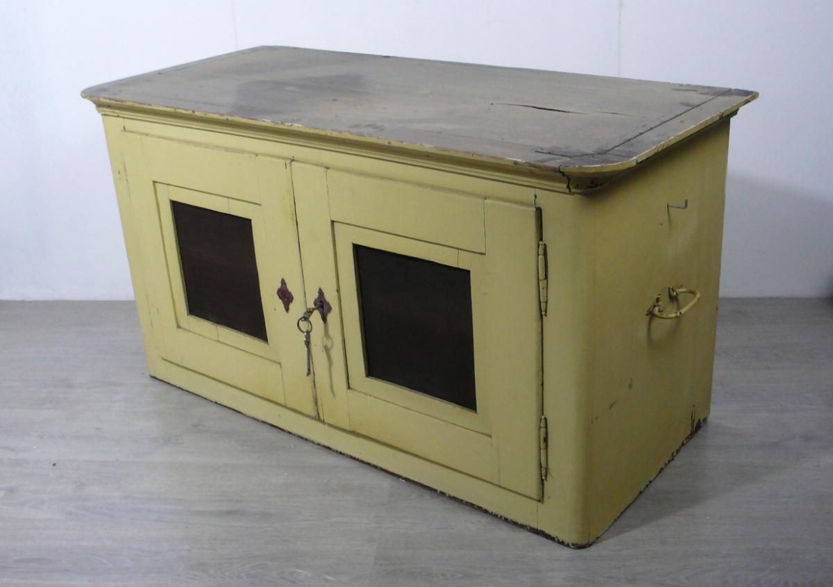 Antiker Stapelschrank Kuchenschrank 3 Schrank Elemente Shabby Beige Original Antik De