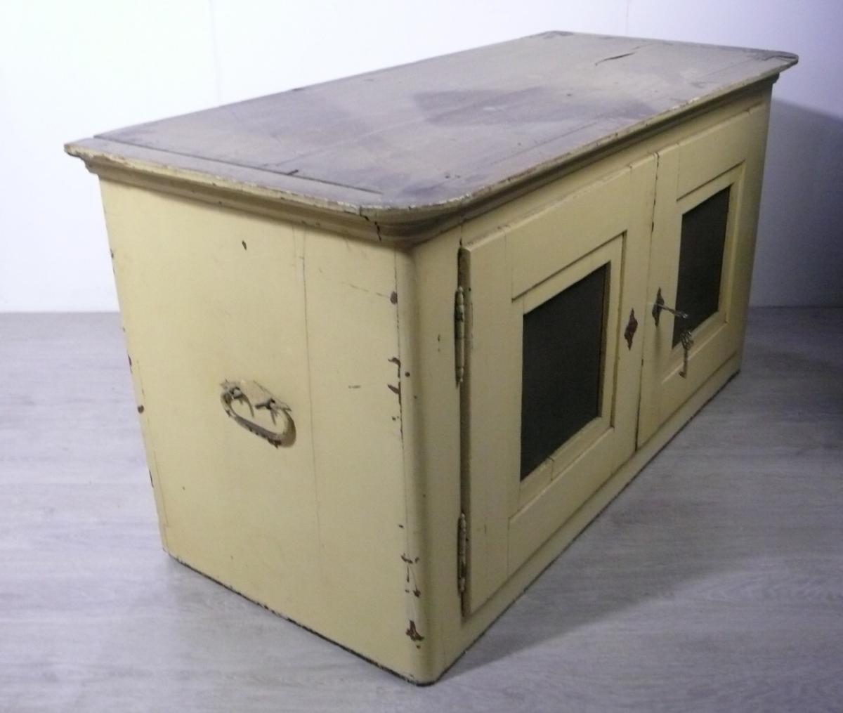 Antiker Stapelschrank Kuchenschrank 3 Schrank Elemente Shabby Beige Original Nr Oid 36139770 Oldthing Mehrteilige Schranke