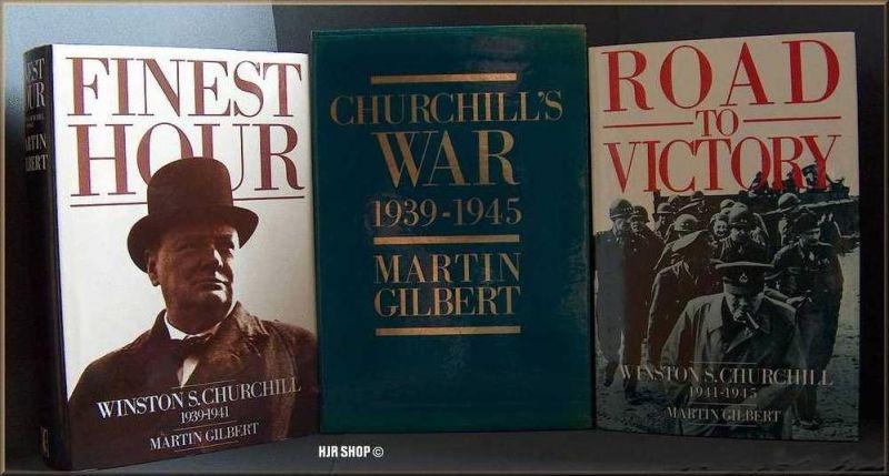 2 x Gebundene Ausgaben im Schuber Winston S. Churchill