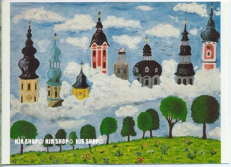 WIECHMANN – BILDKARTEN Gundula Ulith, Bayrische Kirchtürme, Nr.5101