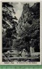 Bodetal i. Harz Die Katerbr�cke beim Hotel Waldkater  um 1930/1940 Verlag: Julius Simonsen,  POSTKARTE,  mit Frankatur,