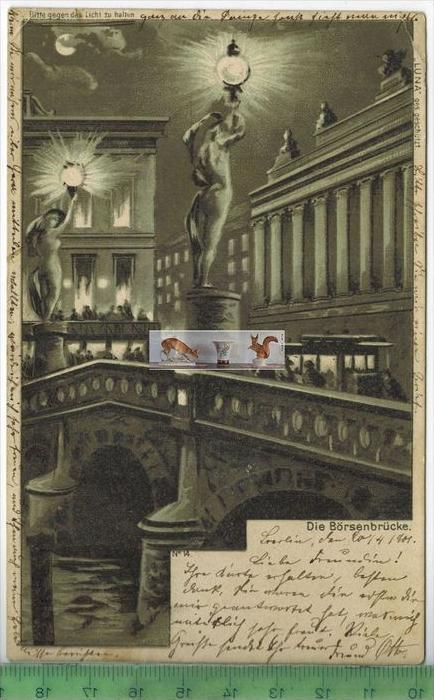 Postkarte postfrisch in berlin oldthing for Stempel berlin mitte