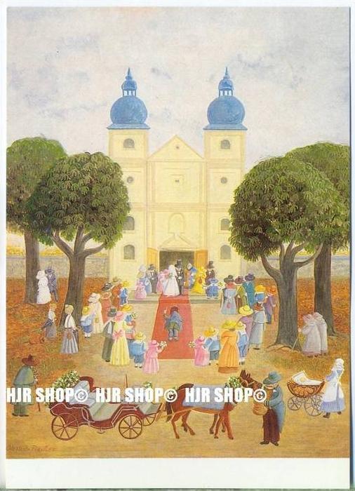 WIECHMANN – BILDKARTEN Svatava Ohme-Fiedler, Hochzeitstag, Nr.5170