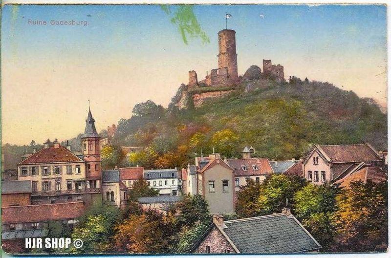 Postkarte, Ruine Godesburg