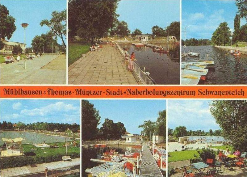 Ansichtskarte, Mühlhausen