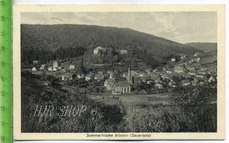 Sommerfrische, Bilstein (Sauerland)  Gel. 30.05.1923
