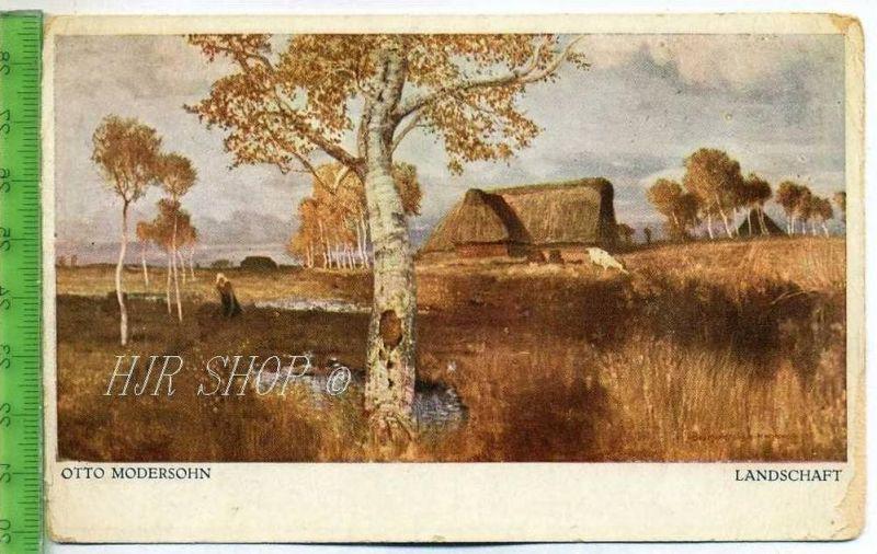 Otto Modersohn, Landschaft  Ungel.