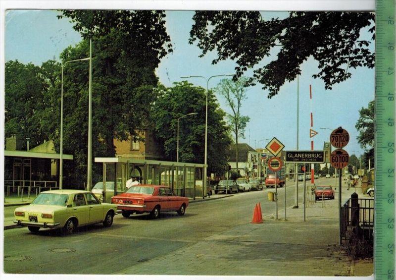 Gronau, Grenzübergang Glanerbrücke Verlag:, Postkarte Mit Frankatur, mit Stempel, GRONAU 18.6.75 Erhaltung: I-II, Karte