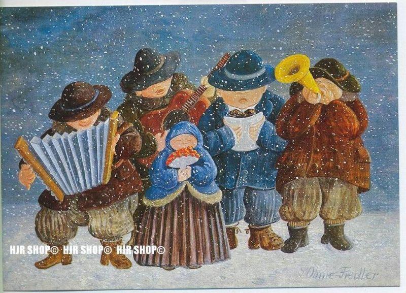 WIECHMANN – BILDKARTEN Svatava Ohme-Fiedler, Neujahrsmusik, Nr.5190