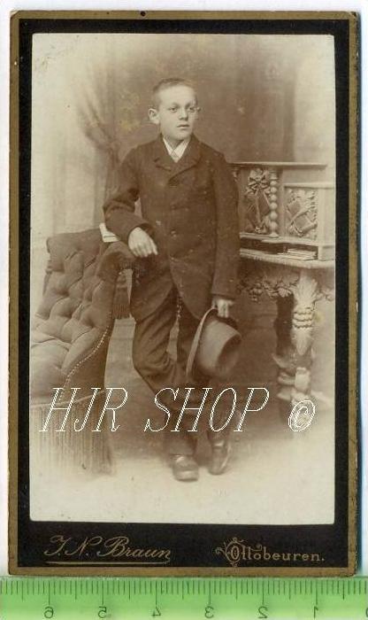 Braun, Ottobeuren vor 1900 kl. Format, s/w., I-II,