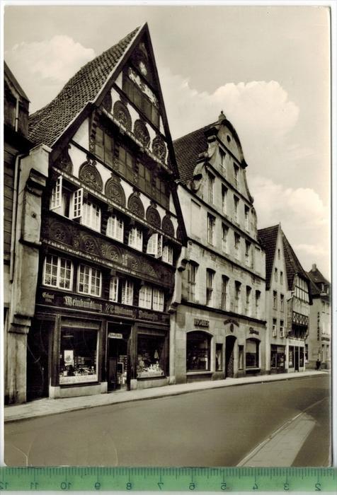 Osnabrück- Haus Willmann 1964 Verlag: Schöning & Co., Lübeck, POSTKARTEmit Frankatur. mit  Stempel, ESSEN    24.10.6