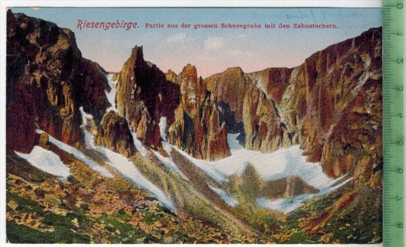 Riesengebirge 1925Verlag: Max Leipelt, POST KARTEmit Frankatur  mit  Stempel, 3.4.25Erhaltung: I-II, Karte wird in Klars