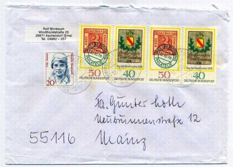 Brief, 12.08.1994, Aschendorf – Mainz,