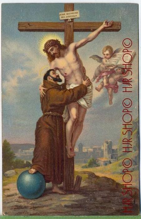 GOLGATHA, Jos. Matthauser um 1900/1910 Verlag: EGMS-Serie R Nr.50 Postkarte unbenutzte Karte,  Erhaltung:I-II Karte wird