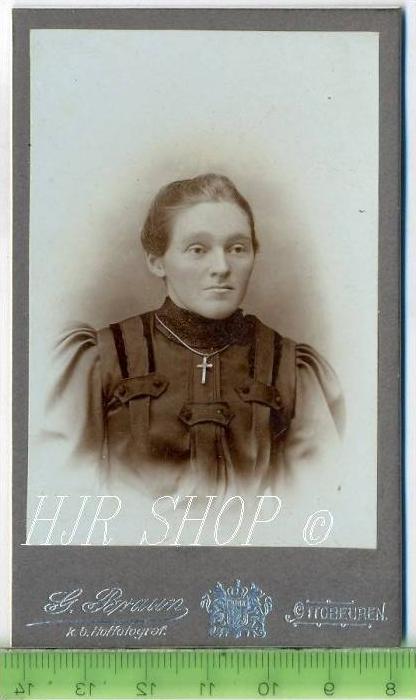G. Braun, Ottobeuren vor 1900 kl.. Format, s/w., I-II