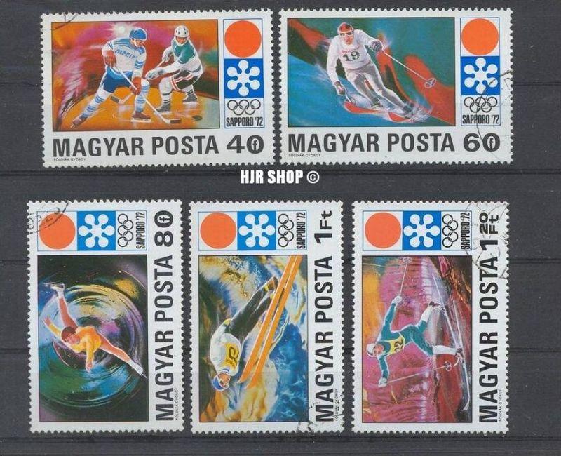 1971, 30. Dez. So.-Ausg. Olymp. Winterspiele 1972, gest.  MiNr. 2720-2724.