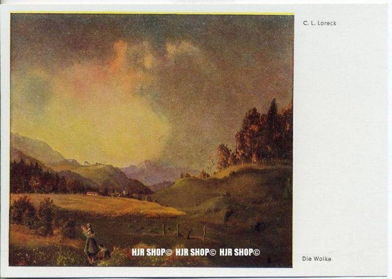 """"""" Die Wolke, C.L. Loreck""""   um 1930/1940,  Ansichtskarte,"""