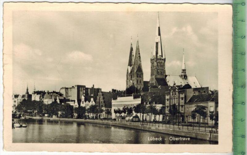 Lübeck - Obertrave, 1957Verlag: Schöning & Co., Lübeck, POSTKARTEmit Frankatur  mit Stempel, LÜBECK  7.8.57MIT BEFÖR