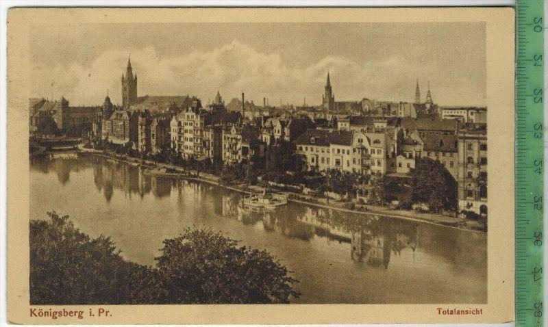 Königsberg, 1913Verlag: -------- Postkarte, MIT, Frankatur, Stempel ,KÖNIGSBERG 28.4.13   Maße: 14  x 9 cmErhaltung: I-I