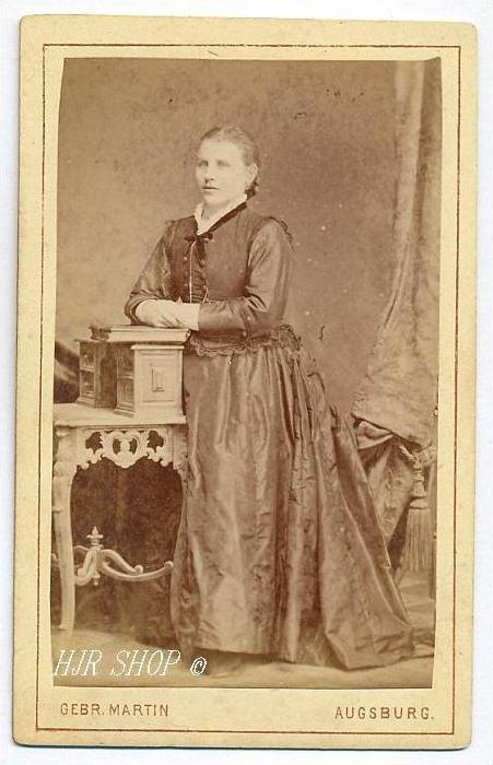 Fotographie, Gebr. Martin, Augsburg kl. Format, s/w, I-II,