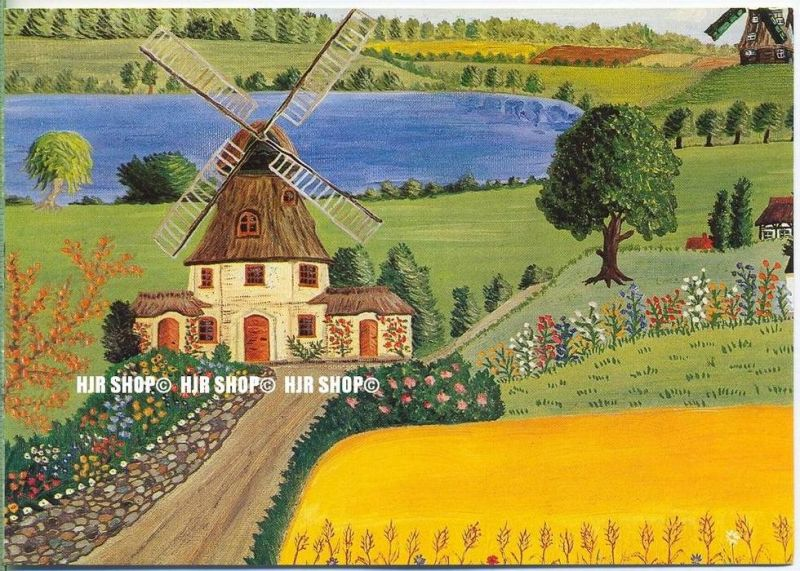 WIECHMANN – BILDKARTEN Gundula Ulith, Holländische Landschaft, Nr.5187