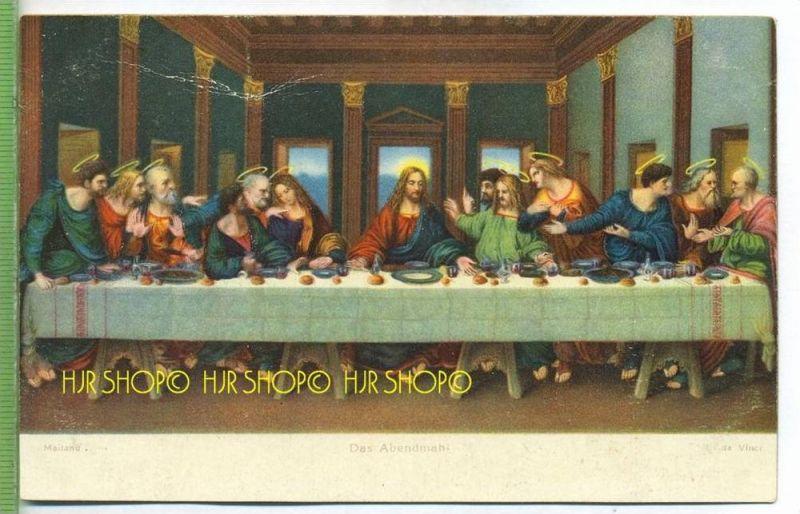 DAS ABENDMAHL , L. da Vinci um 1900/1910 Verlag: Stengel&Co., GmbH, Dresden,  nr.29865  Postkarte unbenutzte Karte , Erh